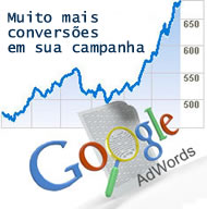 Campanha de links patrocinados no Adwords