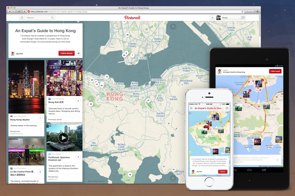 Marketing no Pinterest para agencias de viagem