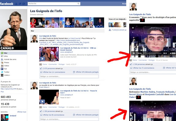 Facebook anuncios em video