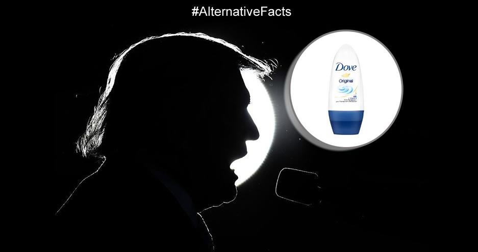 alternative facts dove trump